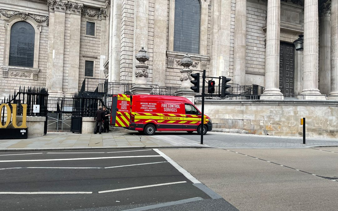 Fire Control Services at St Paul's Cathedral
